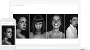 Horizon theme, used by Agata Serge