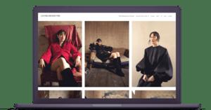 Create fashion design portfolio