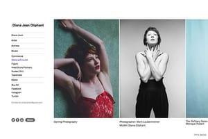 Diana Jean Oliphant Model Portfolio