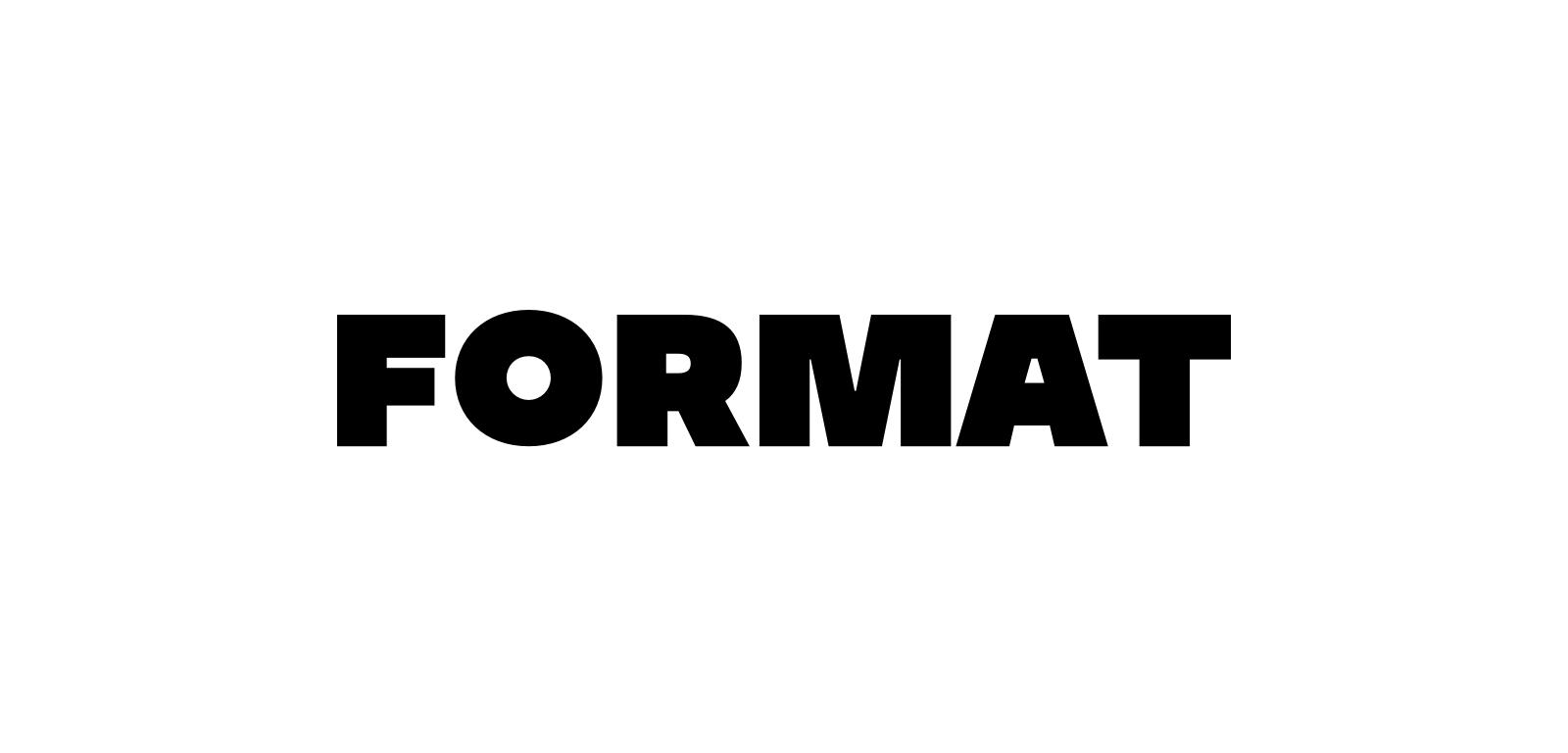 format white wordmark