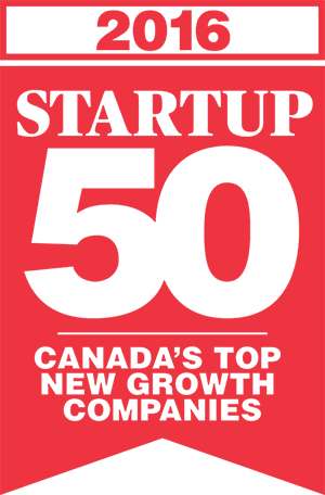 STARTUP 50 ranking of Canada's Top New Growth Companies