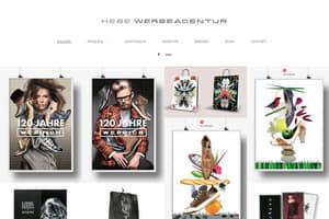 Hebe Werbeagentur Design Portfolio