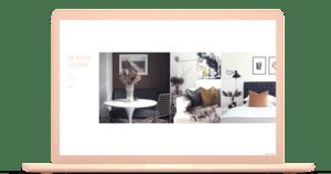 Create interior design portfolio