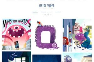 Oriol Vidal Illustrator Portfolio