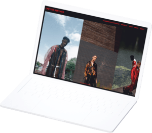 Online Fashion Design Portfolio Website Builder For Designers Format