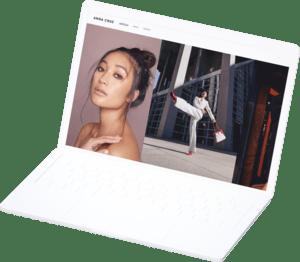 model fashion portfolio