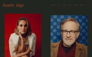 Rozette Rago online portfolio