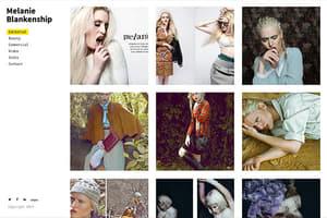 Melanie Blankenship Model Portfolio