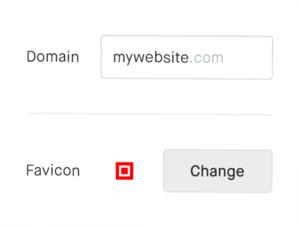 Custom domain names and favicons