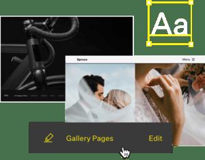 online portfolio design editor