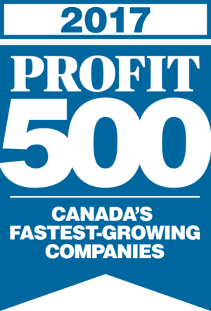2017 Profit 500 Canada's Fastest-Growing Companies