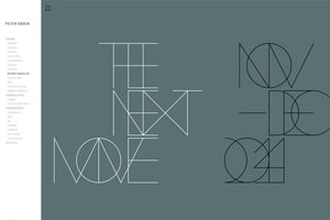 Peter Ogden Design Portfolio