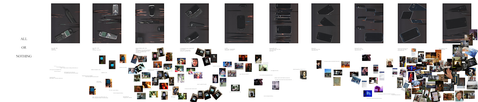 """All or Nothing 2020  Inkjet Print  (110"""" x 23.5"""" inches)"""