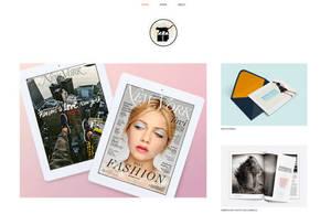 Example portfolio website by designer Erin Foster