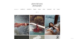 Pierre Dal Corso online photography portfolio