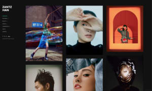 Zantz Han online portfolio