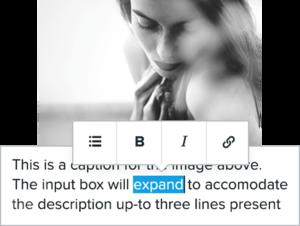 Click-to-edit content
