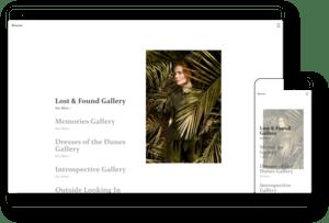 model fashion theme image