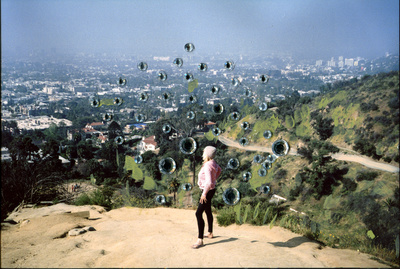 Charlotte hikes nearly five miles every morning in Runyon Canyon, Hollywood. 2018.