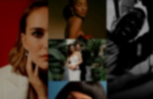blurred collage of online portfolio images