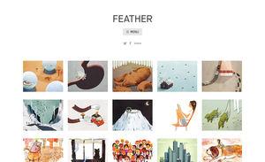 Illustrator Portfolio Website