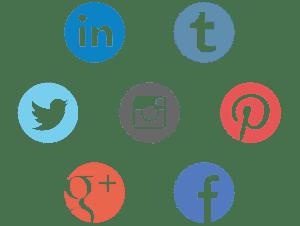 Model Portfolio social sharing