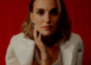 blurred image of female model