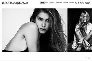 Online portfolio for Models – Format.com