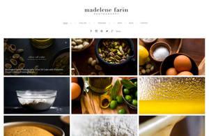 Example portfolio website by photographer Madelin Farin