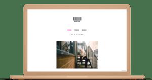 Create music talent portfolio