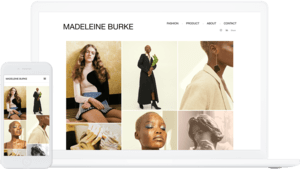 Amazon theme, used by Madeleine Burke
