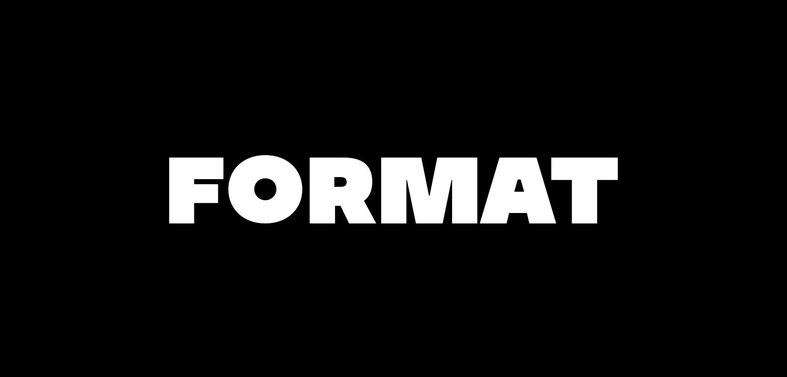 format red wordmark