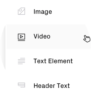 Simple video embedding