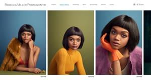 Rebecca Miller online photography portfolio