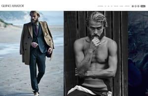 Example portfolio website by photographer Quino Amador