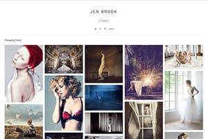 Jen Brook Model Portfolio