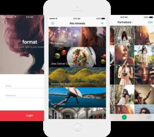 format galleries app