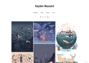 Hayden Maynard online portfolio