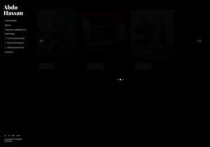 Abdo Hassan online portfolio